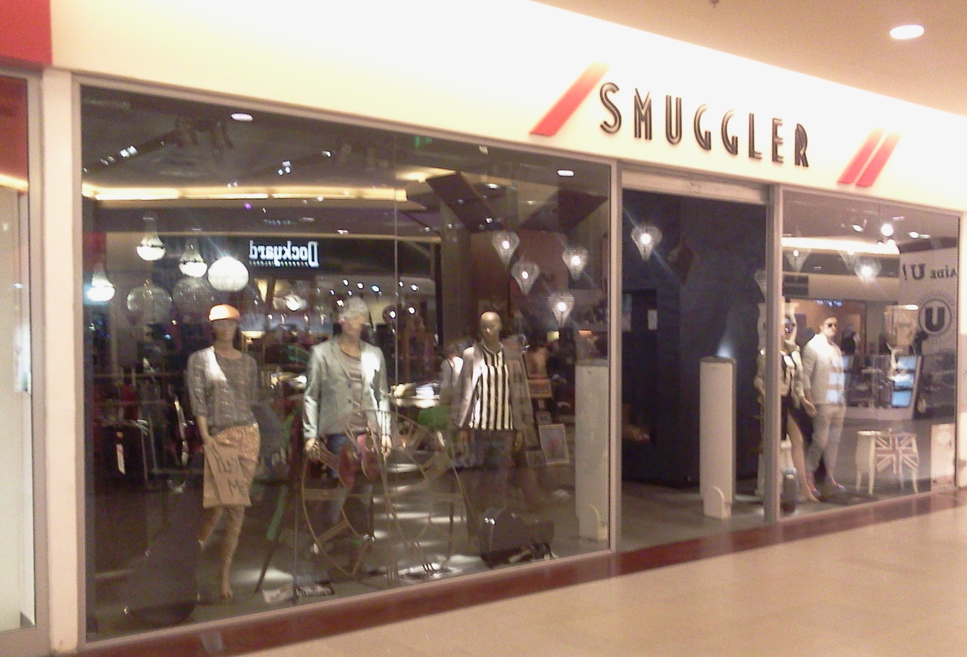SMUGGLER Incinta Iulius Mall Cluj