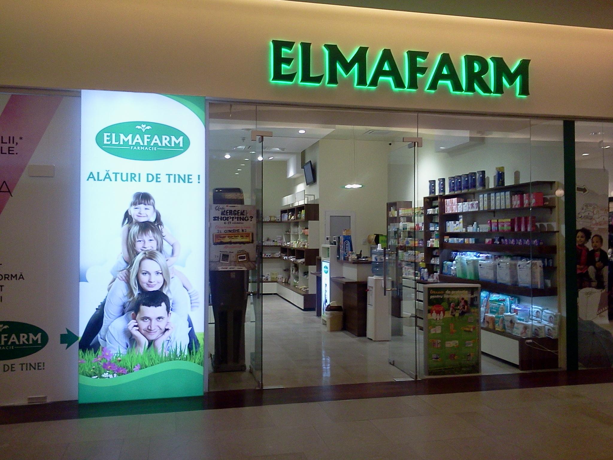 Extindere farmacie ELMAFARM Incinta IULIUS MALL Cluj