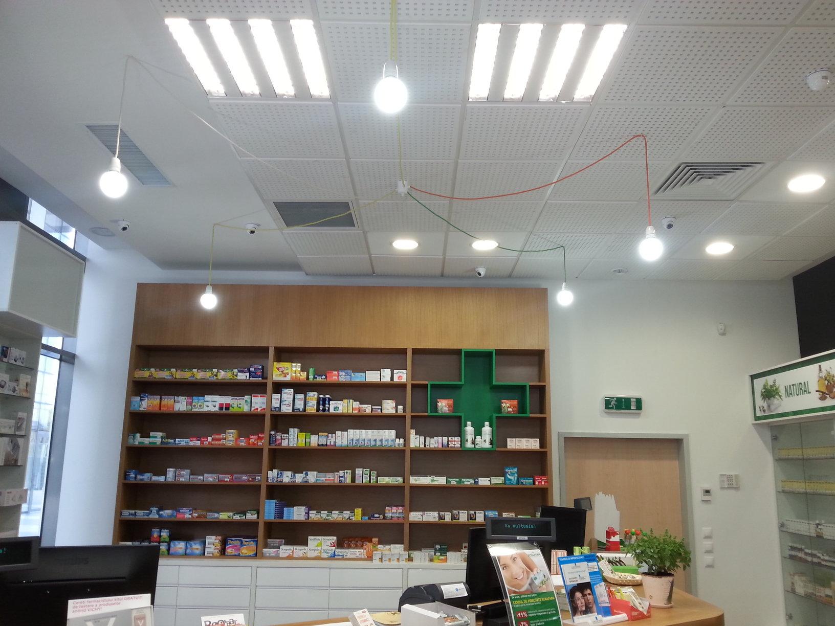 Amenajare farmacie ELMAFARM Incinta THE OFFICE Cluj